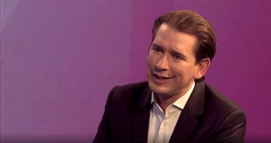 """Sebastian Kurz outet sich im Interview mit """"The Pioneer""""-Herausgeber Gabor Steingart als Rocker."""