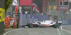 Mick Schumacher schrottet schon wieder sein Auto