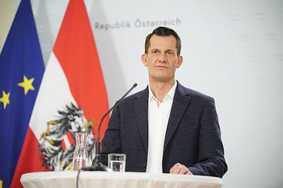 Ab Montag Gesundheitsminister: Wolfgang Mückstein.
