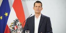 Minister Mückstein freut sich über Impf-Meilenstein