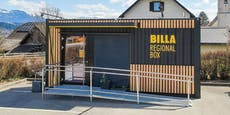 Billa testet ab sofort unbesetzte Container-Shops