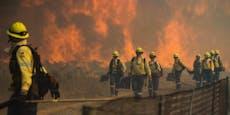 Großbrand zerstört Flächen des Tafelbergs in Kapstadt