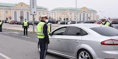 Shopping-Verbot für Wiener – scharfe Polizeikontrollen