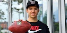 New York Giants nehmen Platzgummer unter Vertrag