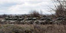 Sorge: Größter russischer Militäraufmarsch an UA-Grenze