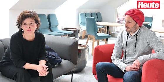 """Katharina Stemberger & Klaus Schwertner im """"Heute""""-Interview"""