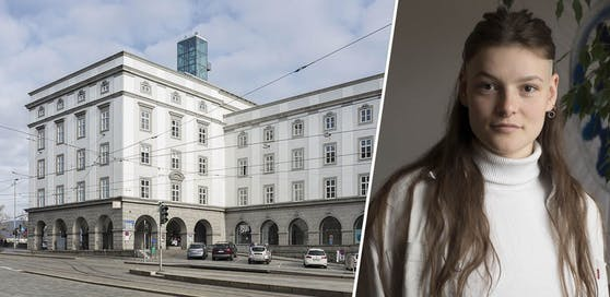 Die Linzer Kunstuni-Studentin Marion Theres Winter ruft zum Losschreien auf.