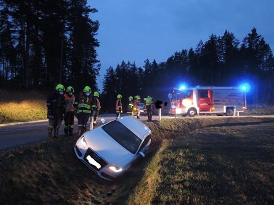 Schwerer Unfall im Bezirk Gmünd