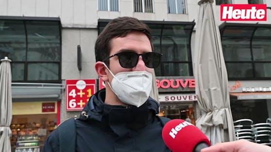 Die Maskenpflicht im Freien findet nicht überall Zustimmung.