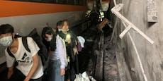 Dutzende Tote bei Zugunglück in Taiwan