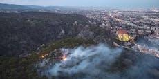 Waldbrand Mödling fordert Einsatzkräfte auch an Tag 2