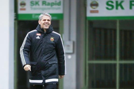 Didi Kühbauer bleibt Rapid-Trainer.