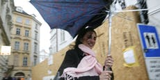 Erst Sonne, dann Regen und eiskalter Wintereinbruch