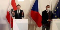 Kurz will Tschechien 30.000 Impfdosen schenken