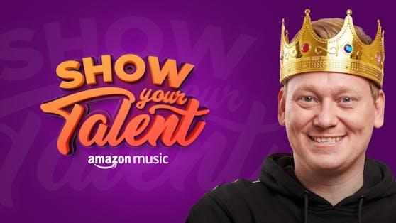 Wenn der König ruft, spielt die Musik: ShowYourTalent mit Twitch-König Knossi und Amazon Music.
