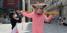 """Video zeigt: So qualvoll ist """"Kreuzweg"""" der Schweine"""