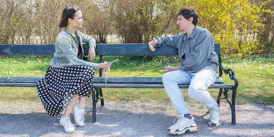 Julian le Play und Romina Colerus