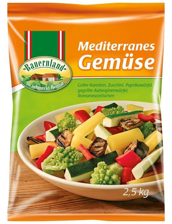 Eine Charge Bauernland Mediterranes Gemüse wird zurückgerufen.