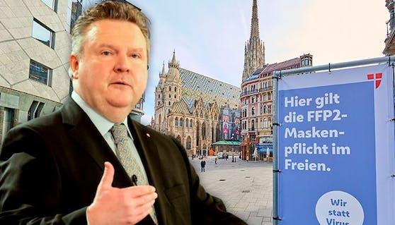 Wiens Bürgermeister Michael Ludwig entscheidet über Lockdown-Ende nächste Woche.