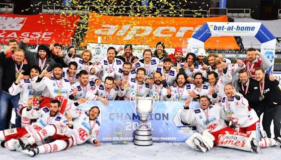 Der KAC gewinnt die ICE Hockey Liga.