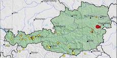 Neunkirchen-Erdbeben reißt Wiener aus dem Schlaf