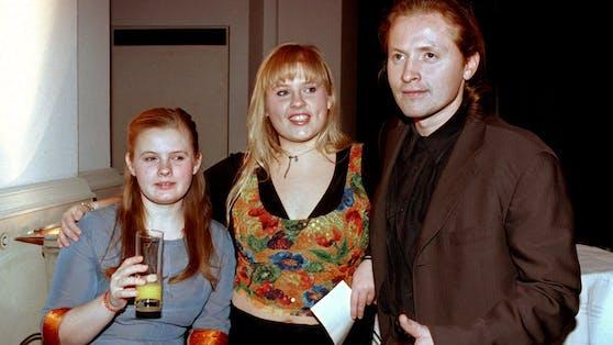 """Barby, Maite und Joey Kelly von der irischen Musikgruppe """"Kelly Family""""."""