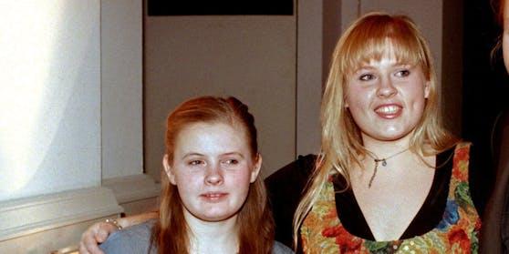 """Barby, Maite und Joey Kelly von der irischen Musikgruppe """"Kelly Family"""""""