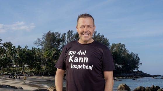"""Willi Herren war Teilnehmer bei """"Promis unter Palmen""""."""