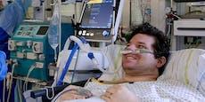"""Linzer (37) lag in Drosten-Klinik: """"Sah Leute sterben"""""""