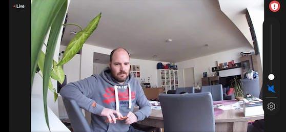 So sieht die Bildqualität der Arlo Essential Indoor Camera aus.