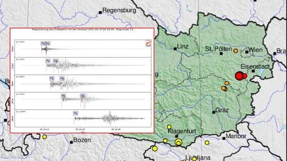 In der Nacht auf Dienstag bebte die Erde in Neunkirchen