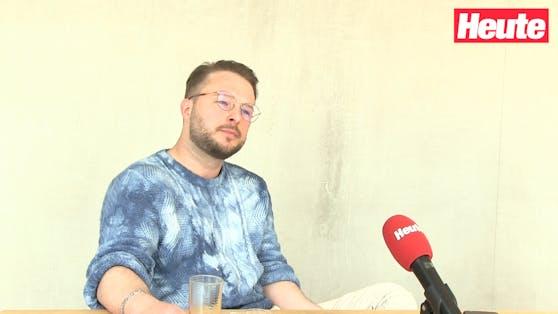 """Startup-Gründer Manuel (30) im""""Heute""""-Interview über seine Erfahrungen."""