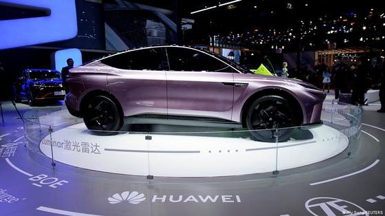 Huawei: 4D Imaging Radar und Co. für intelligente Fahrzeuge.