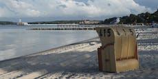 Ostsee öffnet für Touristen mit Indoor-Gastronomie