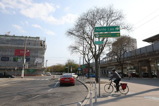 Mobilitätsstadträtin Ulli Sima präsentierte vergangene Woche ihr erstes Rad-Programm. Die Geiselbergstraße soll in Zukunft sicherer überquert werden können.