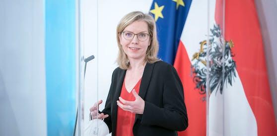 Umwelt- und Klimaministerin Leonore Gewessler (Grüne).