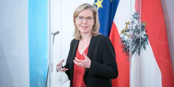 Klimaministerin Gewessler stellt am Mittwoch ihre Pläne vor.