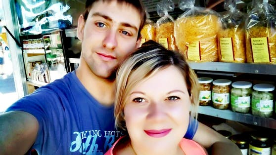 Patrick Neuhofer mit Freundin Melanie