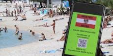 Grüner Pass gilt ab kommender Woche auch für Geimpfte