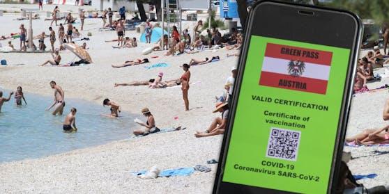 """Der """"Grüne Pass"""" soll den Urlaub ermöglichen."""