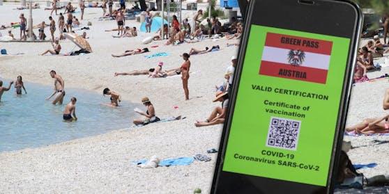 Der Grüne Pass soll den Urlaub ermöglichen.