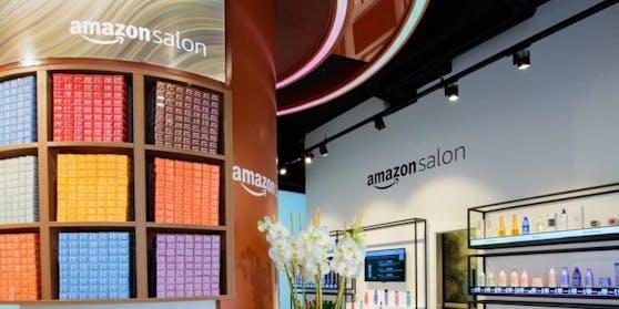 Online-Riese Amazon hat seinen ersten Frisiersalon in London eröffnet