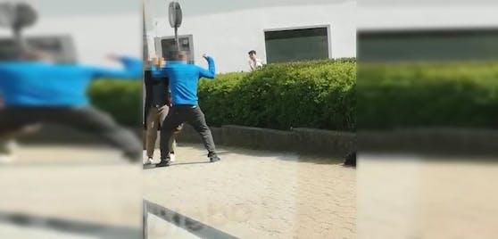 Der Mann attackierte die Frau auf der Hetzendorferstraße (Wien-Meidling).