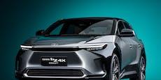 Toyota gibt einen Ausblick auf ersten Elektro-SUV