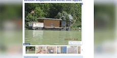 """Niederösterreicher verkauft """"schwimmendes Homeoffice"""""""