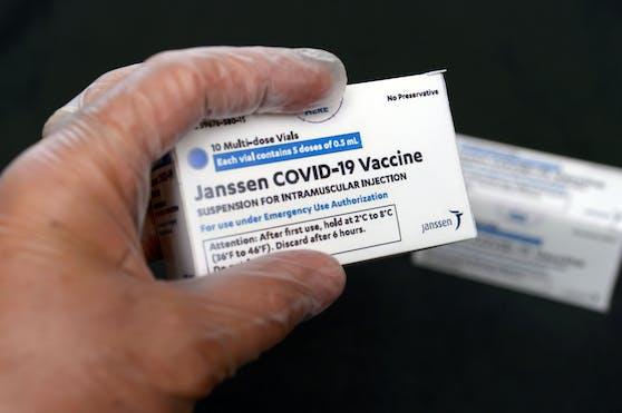 16.800 Impf-Dosen des Herstellers Johnson & Johnson warten in Österreich bereits auf ihren Einsatz.