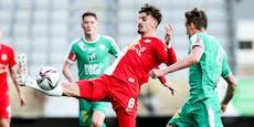 2:3! Salzburger Siegesserie endet gegen WSG Tirol