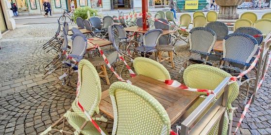 Derzeit ist noch harter Lockdown in Wien, Mitte Mai soll die Gastronomie öffnen dürfen.