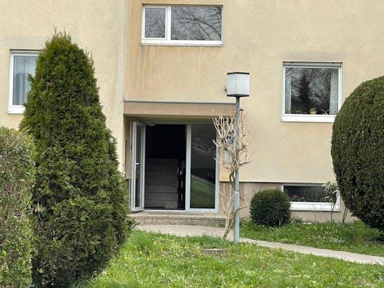 In diesem Wohnhaus passierte der Mord