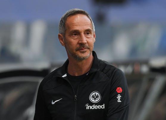 Frankfurt-Coach Adi Hütter musste seinen Führerschein abgeben.
